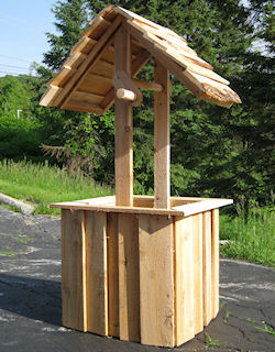 cedar wishing well